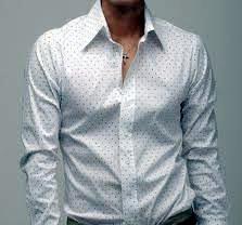 80ed98c3d9974b5 Модели сорочек с высоким воротником – примерьте доступную элегантность.  рубашка
